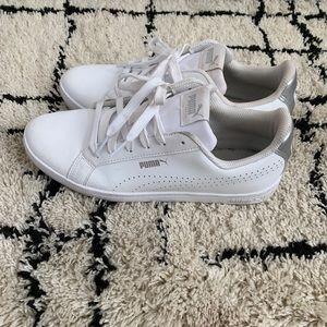 Puma White Classic Sneakers